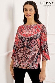 Lipsy Paisley Top