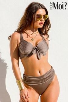 Pour Moi Azure Foldover Bikini Briefs