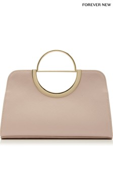 Forever New D Ring Clutch Bag
