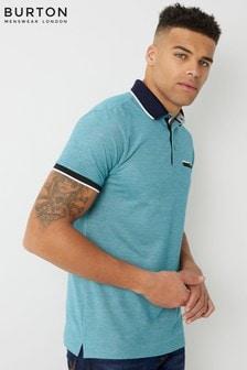 Burton Polo-T-Shirt mit Zierstreifen