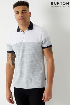 Burton Polo-T-Shirt mit Farbblockdesign