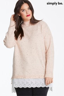 Simply Be Broderie Jumper