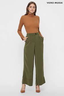 Vero Moda Petite Wide Fit Trousers