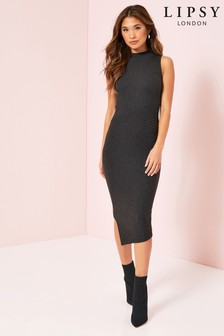 Lipsy Asymmetric Hem Dress