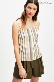 Mis Selfridge Cami Stripe Top