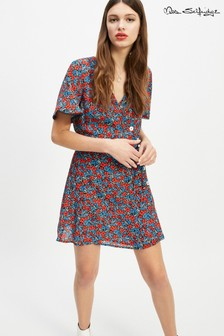 Miss Selfridge Button Detail Dress