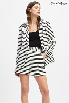 Miss Selfridge Striped Floaty Shorts