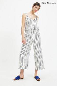 Miss Selfridge Button Cami Stripe Top