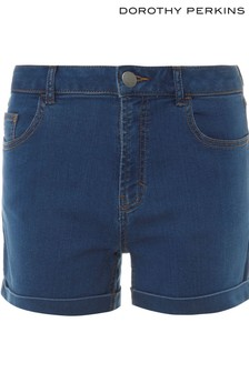 Dorothy Perkins Denim Low Rise Shorts