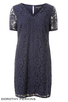 Vestido recto de encaje de Dorothy Perkins