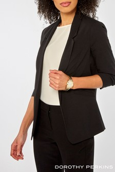 af578db9074 Dorothy Perkins Rouched Sleeve Jacket