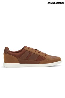 Jack & Jones Mesh Panel Contrast Sole Trainers