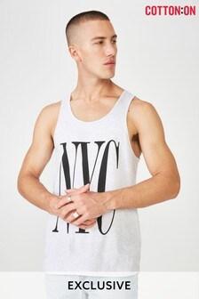 Cotton On NYC Print Vest Top