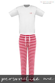 Personalised Kids Christmas Pyjamas by The Gift Collective