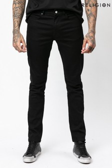 Religion Slim Fit Jeans In Stretch Denim With Tapered Ankle