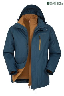 Mountain Warehouse Bracken Extreme 3 In 1 Mens Waterproof Jacket