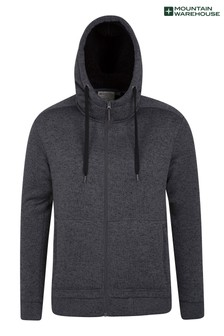 Mountain Warehouse Nevis Mens Fleece Lined Hoodie