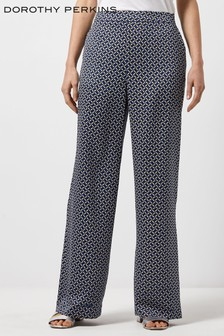 Dorothy Perkins Geometric Print Trousers