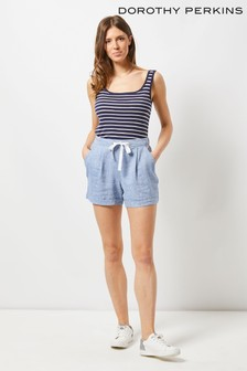 Dorothy Perkins Chambray Shorts