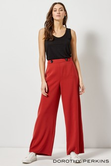 Dorothy Perkins Crepe Wide Leg Trousers