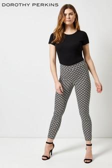 Dorothy Perkins Circle Print Skinny Trousers