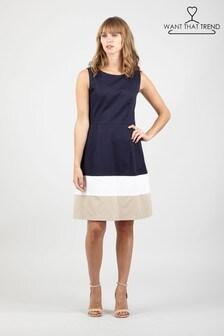 שמלת סקייטר של Want That Trend