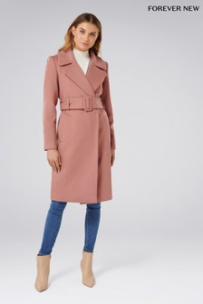 Forever New Bella Wrap Coat