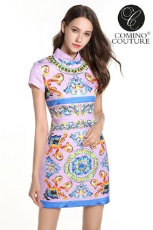 Comino Couture China Doll Minikleid