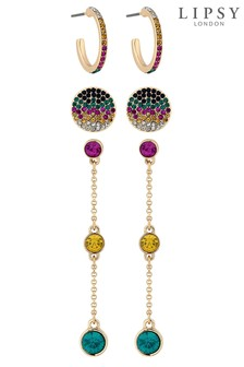 Lipsy Bright Earrings- Pack of 3