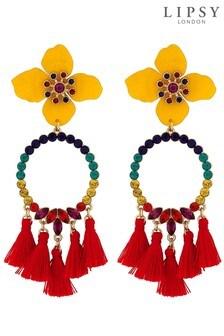 Lipsy Frieda Flower Earrings
