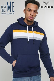 Threadbare Block Colour Hoodie