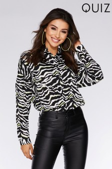 Quiz Animal Print Shirt