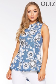 Quiz Floral Tunic Top