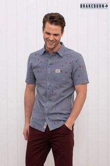 Рубашка с короткими рукавами и принтом Brakeburn