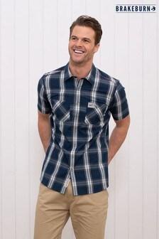 Brakeburn Short Sleeve Check Shirt