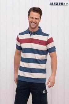 Brakeburn Block Stripe Polo Shirt