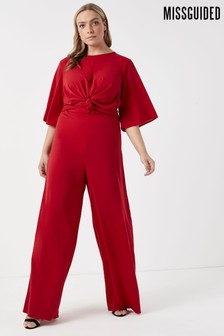 Missguided Curve Wide-Leg Jumpsuit