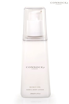 Connock London Kukui Oil Hand & Body Lotion 200ml