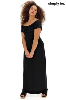 Simply Be Bardot Maxi Dress