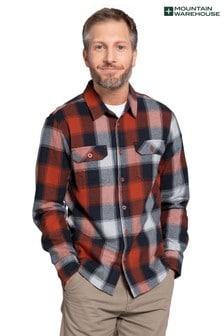 Mountain Warehouse Trace Mens Flannel Long Sleeve Shirt