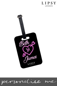 Personalised Lipsy Lovestruck Luggage Tag By Koko Blossom