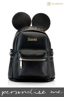 Personalised Childrens Ears Backpack By HA Designs