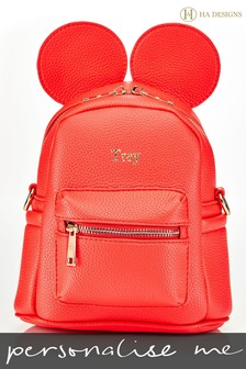 Personalised Childrens Ears Backpack By HA Designs