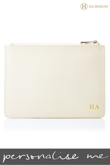 Personalised Saffiano Pouch By HA Designs