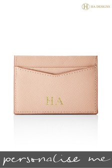 Personalised Saffiano Card Holder By HA Designs