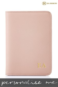 Personalised Saffiano Passport Cover By HA Designs