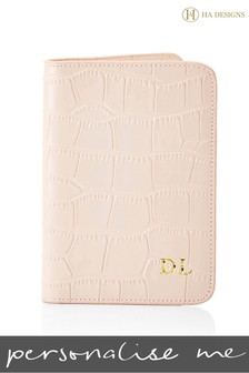 Personalised Croc Passport Cover By HA Designs