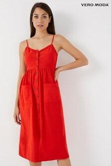 Vero Moda Petite Midi Dress
