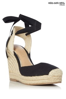 Head Over Heels Wedge Heel Espadrilles