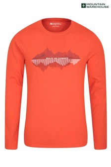 Mountain Warehouse Brave The Elements Long Sleeved Mens Top